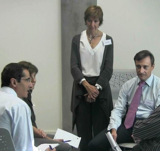 Formación empresarial de habilidades de coaching