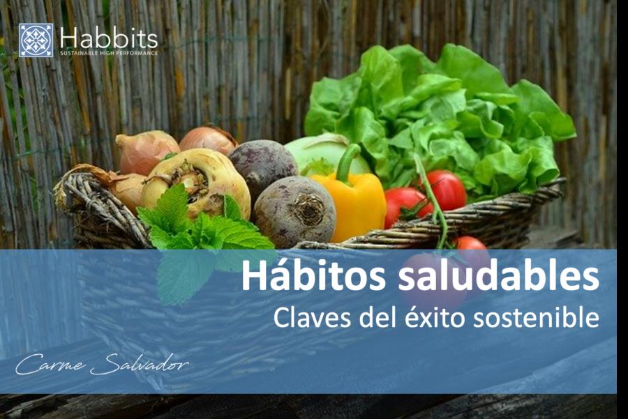Habitos saludables de un coach, cesta con verduras.